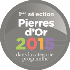 Nominé aux Pierres d'Or 2015